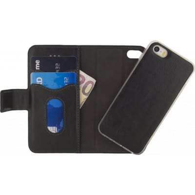 Mobilize Premium 2in1 Gelly Wallet Case Apple iPhone Black