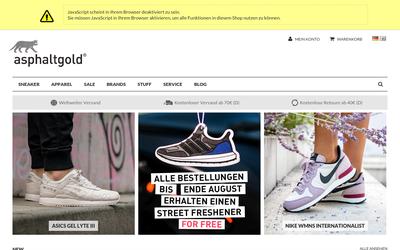 Asphaltgold website