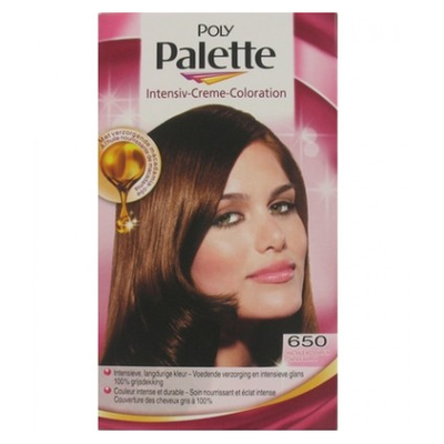 Schwarzkopf Poly Palette Haarverf Nr. 650 Kastanje