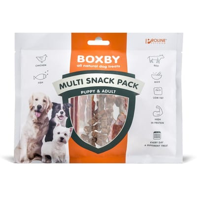 Proline Dog Boxby Multi Snack Pack 10 St