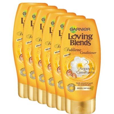 Garnier Loving Blends Argan Camelia Conditioner Voordeelverpakking Voor