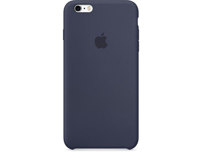 Apple iPhone silicone Blauw