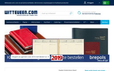 Witteveen Kantoorinstallaties B.v. website