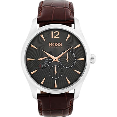 Hugo Boss HB1513490 Commander Horloge Bruin mm 3