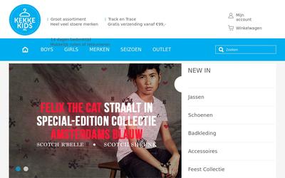 Kekkekids website
