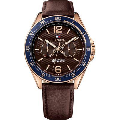 Tommy Hilfiger TH1791367 horloge heren bruin 3