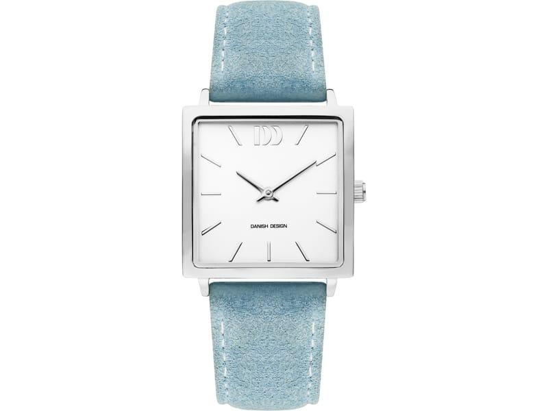 Danish Design IV24Q1248 horloge dames blauw edelstaal
