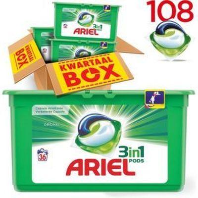 Ariel Wasmiddel 3in1 Pods Regular 36 stuks