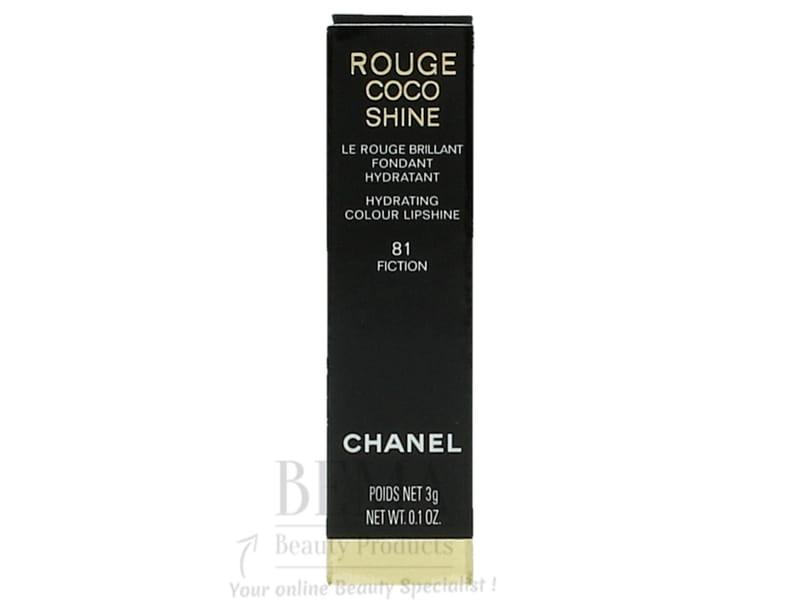 Chanel Rouge Coco Shine 81 Fiction Lippenstift