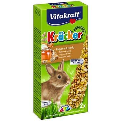 Vitakraft Dwergkonijn Kracker Popcorn 2 in 1