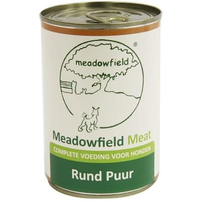 Meadowfield meat blik rund puur 400 gr