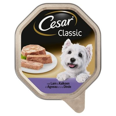 Cesar alu classic pate met lam en kalkoen 150 gr