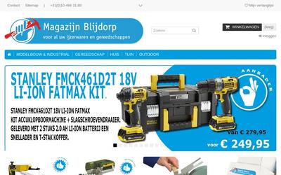 Magazijn Blijdorp B.v. website