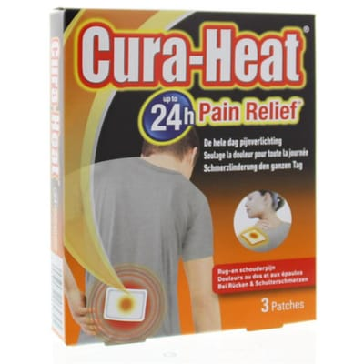 Cura Heat Rug Schouder
