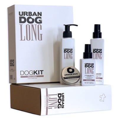 Urban dog dogkit set voor lange vacht