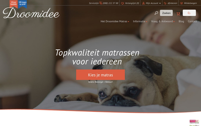 Droomidee website